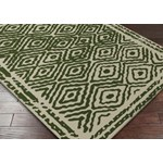 "Surya Beth Lacefield Atlas Spruce Green (ATS-1009) Rectangle 8'0"" x 11'0"""