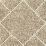 Armstrong Peel N Stick Elston Series: Diamond Limestone Umber Residential Vinyl Tile 28956