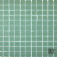 "MS International Green Crystallized Glass Mosaic 12"" x 12"" : SMOT-GLS-GRN8MM"