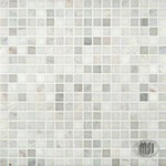 "MS International Arabescato Carrara Marble Mosaic 12"" x 12"" : SMOT-ARA-5/8-H"