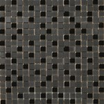 "Emser Lucente Stone and Glass Blends Mosaic 12"" x 12"" : Zanfirico"