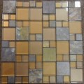 "Glass Tile & Stone Magnificent Modular Series Mosaic 12"" x 12"" : AL1650"