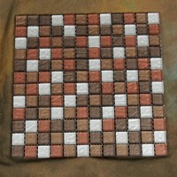 "Glass Tile & Stone Pure Color Series Mosaic 12"" x 12"" : AL048"