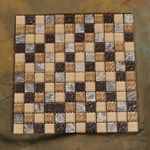 "Glass Tile & Stone Stone Material Series Mosaic 12"" x 12"" : AL650"