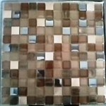 "Glass Tile & Stone Stone Material Series Mosaic 12"" x 12"" : AL680"
