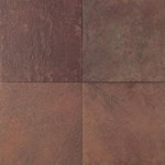 "Daltile Continental Slate: Indian Red 12"" x 12"" Porcelain Tile CS5112121P6"