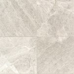 "Daltile Limestone: Arctic Gray Honed 12"" x 12"" Natural Stone Tile L757-12121U"