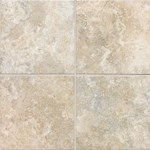 "Daltile San Michele: Crema Cross-Cut 12"" x 12"" Porcelain Tile SI3012121P6"