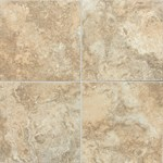 "Daltile San Michele: Dorato Cross-Cut 12"" x 12"" Porcelain Tile SI3112121P6"