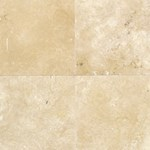 "Daltile Travertine: Durango Honed 12"" x 12"" Natural Stone Tile T71412121U"