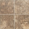 "Daltile San Michele: Moka Cross-Cut 24"" x 24"" Porcelain Tile SI3224241P6"
