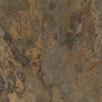 "Armstrong Natural Creations EarthCuts: Haven Stone Rust Brown 12"" x 12"" Luxury Vinyl Tile TP510 <br> <font color=#e4382e> Clearance Pricing! <br>Only 135 SF Remaining! </font>"