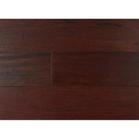 "Indusparquet Engineered Hand-Scraped: Brazilian Cherry Rouge/Red without French Bleed1/2"" x 5"" Engineered Hardwood IPPFHSENGBCN5"