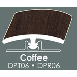 "Congoleum DuraPlank II T-Mold: Coffee - 94"" Long"