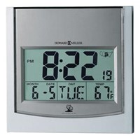 Howard Miller 625-235 Techtime I Non-Chiming Wall Clock