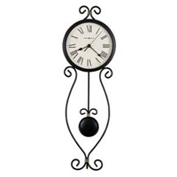 Howard Miller 625-495 Ivana Non-Chiming Wall Clock