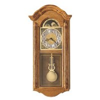 Howard Miller 620-156 Fenton Chiming Wall Clock