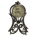 Howard Miller 635-141 Vercelli Non-Chiming Mantel Clock