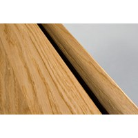 "Kahrs Linnea City Collection:  Square Nose Reducer White Oak Gunstock - 78"" Long"