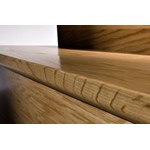 "Kahrs Original American Naturals Collection: Flush Stair Nose Hard Maple Toronto - 78"" Long"