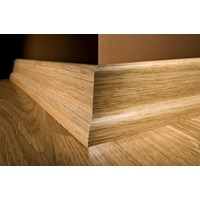 "Kahrs Linnea Country Collection: Slim Base Red Oak Natural - 96"" Long"