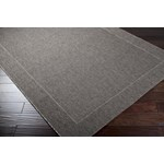 "Surya Elements Charcoal Gray (ELT-1008) Rectangle 2'2"" x 3'4"""