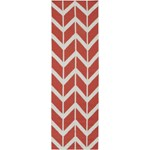 "Surya Jill Rosenwald Fallon Coral (FAL-1054) Rectangle 2'6"" x 8'0"""