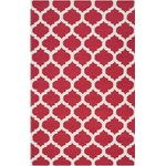 "Surya Frontier Red (FT-114) Rectangle 5'0"" x 8'0"""