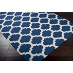 "Surya Frontier Midnight Blue (FT-84) Square 0'6"" x 0'6"""