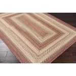 "Surya Jamestown Brick Red (JAM-4300) Rectangle 2'3"" x 3'9"""