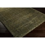"Surya Luxury Shag Moss (LXY-1728) Rectangle 6'7"" x 9'6"""
