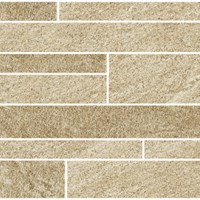 "Eleganza Contemporary Element: 12"" x 24"" Beige Murale Porcelain Tile CEL-BE1224M"