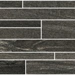 "Eleganza Contemporary Element: 12"" x 24"" Inca Brown Murale Porcelain Tile CEL-IN1224M"