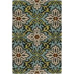 "Chandra Amy Butler (AMY13202-79106) 7'9""x10'6"" Rectangle Area Rug"