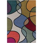 "Chandra Bense (BEN3011-576) 5'0""x7'6"" Rectangle Area Rug"