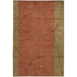 "Chandra Lost Link (LOS1812-576) 5'0""x7'6"" Rectangle Area Rug"