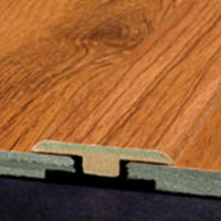 "Armstrong Rustics Premium:  T-Mold Homestead Plank Prairie Brown - 72"" Long"