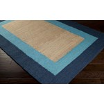 "Surya Mimosa Bright Cerulean (MIM-9002) Rectangle 8'0"" x 11'0"""