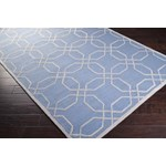 "Surya Mezzo Steel Blue (MZO-6002) Rectangle 3'6"" x 5'6"""