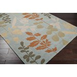 "Surya Rain Foggy Blue (RAI-1037) Rectangle 2'0"" x 3'0"""