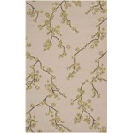 "Surya Rain Parchment (RAI-1076) Rectangle 5'0"" x 8'0"""