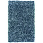 "Surya Shimmer Bright Cerulean (SHI-5004) Rectangle 5'0"" x 8'0"""