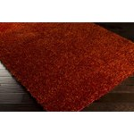 "Surya Taz Orange-Red (TAZ-1005) Square 0'6"" x 0'6"""